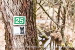 Wanderzeichen sind auf unserer Tour ganz genau zu beachten