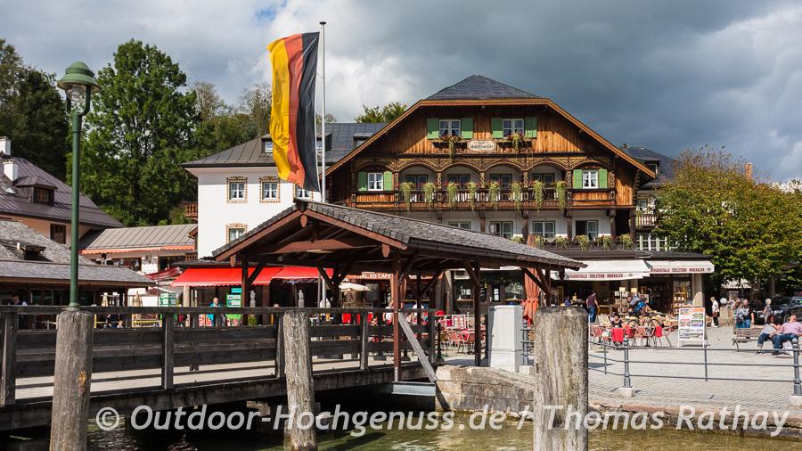Radreise auf dem Bodensee Königssee Radweg