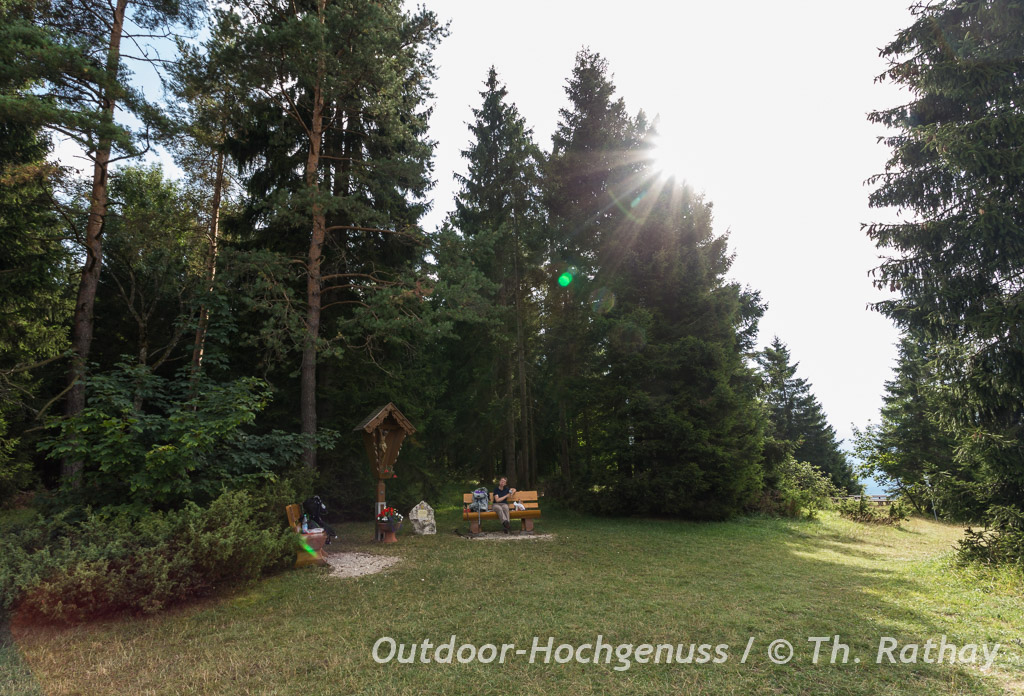Sonniger Picknickplatz