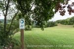 Gut beschildert, der Donauberglandweg