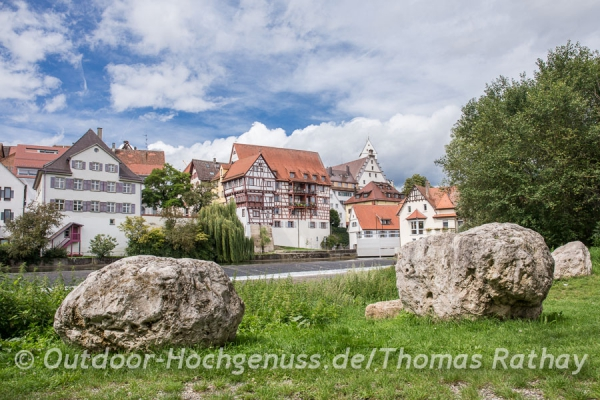 Riedlingens schönes Stadtbild