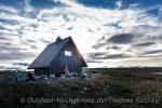 Coole Hütte im Fjäll
