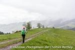 Die Sicht wird besser, hoch über Oberharmersbach.