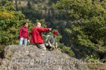 Herrliche Ausblicke von den Felsen am Karlsruher Grat