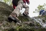 Ohne Trittsicherheit und festes Schuhwerk geht es auf dem Grat nicht