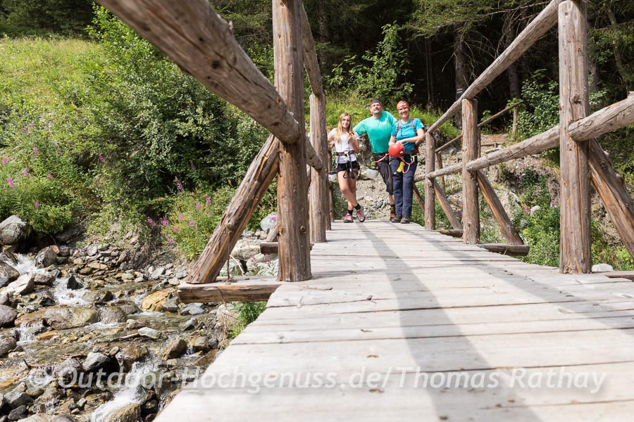 Klettersteig Montafon : Cooler klettersteig an heißen tagen im montafon