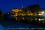 Schloss Sigmaringen in der Abendstimmung