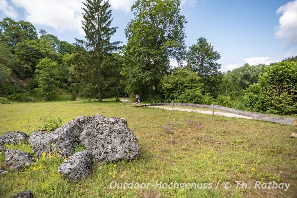 e-bike Fahrradtour von Krater zu Krater, Geopark Ries Radweg