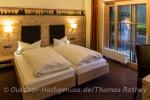 Unser Zimmer im *Berghotel Mummelsee*.