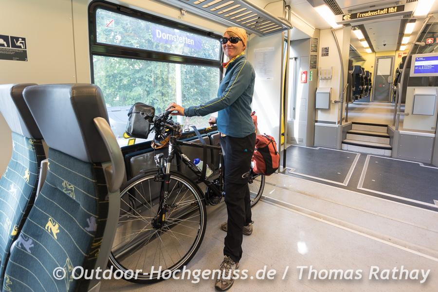 Komfortable Anreise mit der Bahn nach Freudenstadt