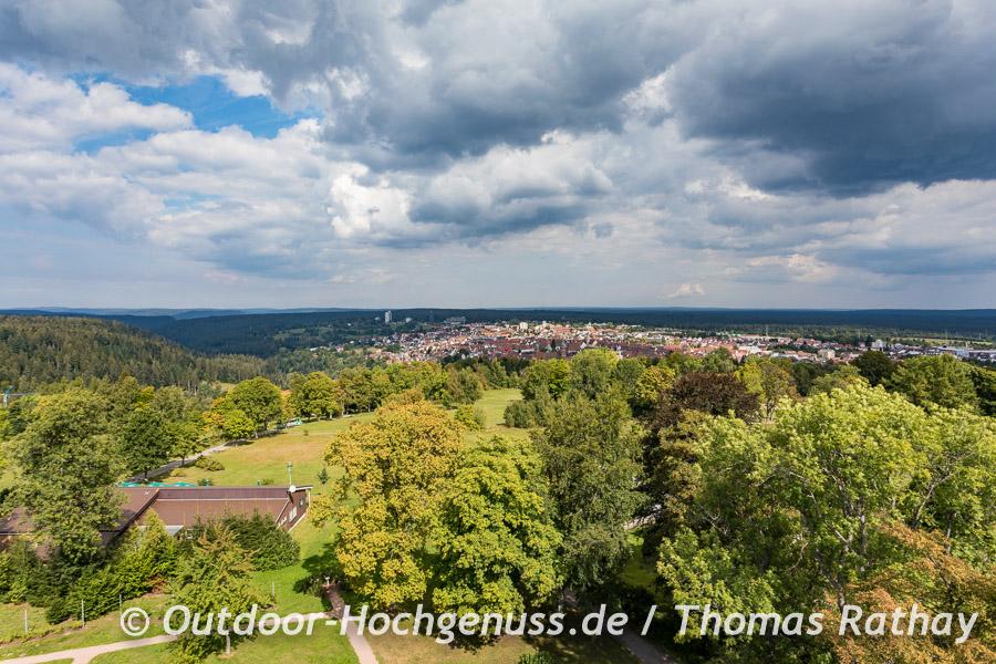 Aussicht über den Nordschwarzwald