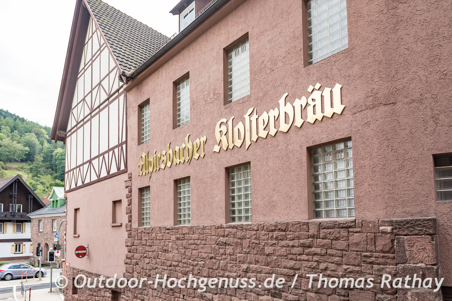 Das Klosterbräuhaus lädt ein.