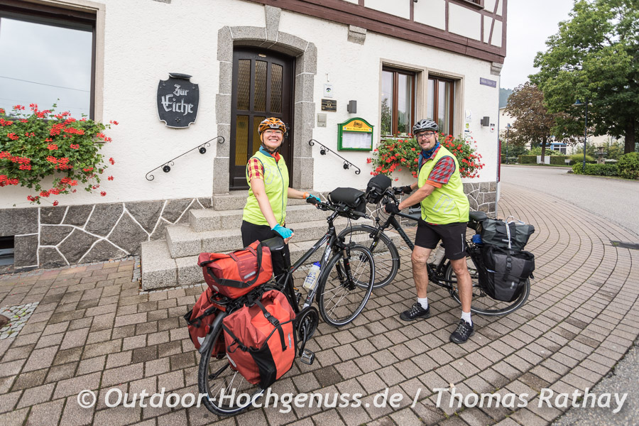 Start am 2. Tag in Hausach