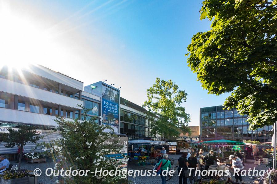 Wochenmarkt in Achern