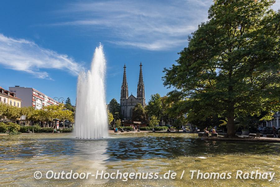 Rast in Baden-Baden