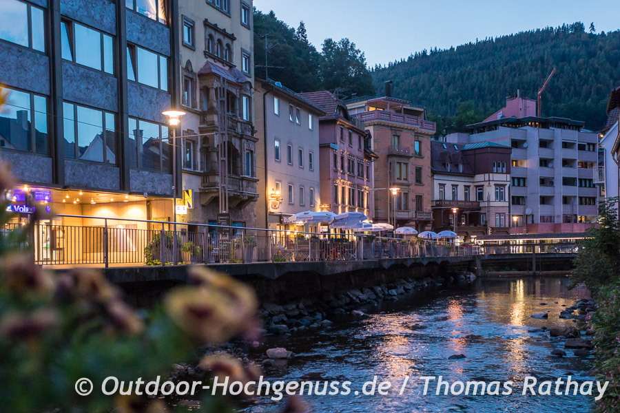 Abends in Bad Wildbad