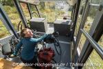 Die Sommerbergbahn erspart uns 300 Höhenmeter