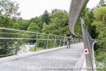 Kurz vor dem Ende - die neue Brücke am Schattenring