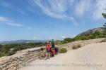 Radumrundung des Luberon im Vaucluse, Provence, Frankreich
