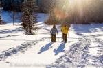 Schneeschuhtour im Allgäu und in Vorarlberg