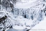Der gefrorene Hausbach
