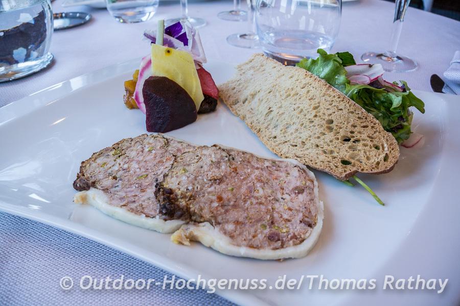 Pâté wird in Frankreich häufig als Vorspeise gereicht