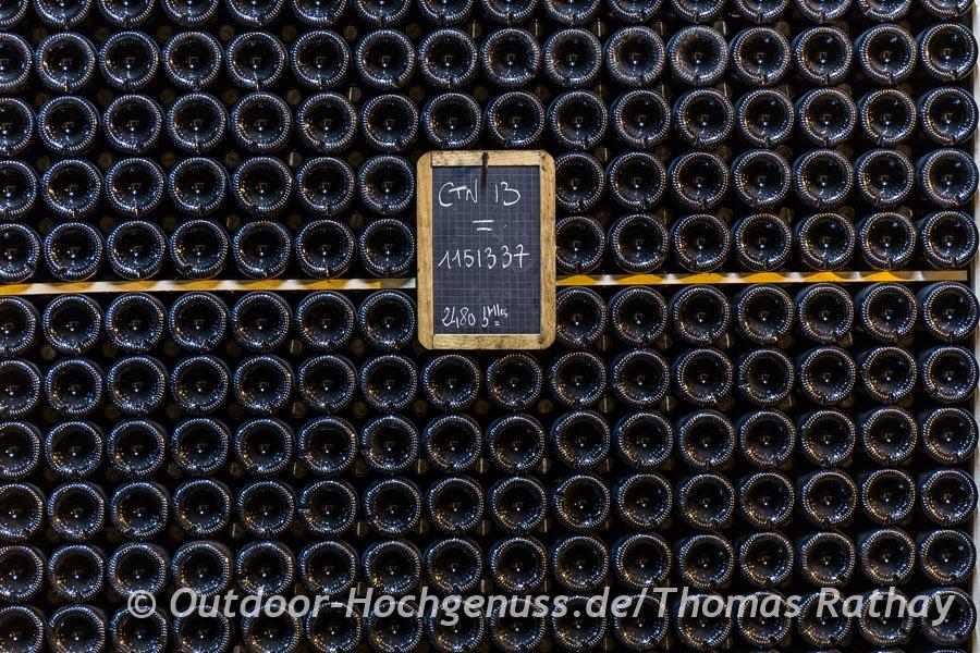 Es geht doch nichts über ein gut gefülltes Weinlager