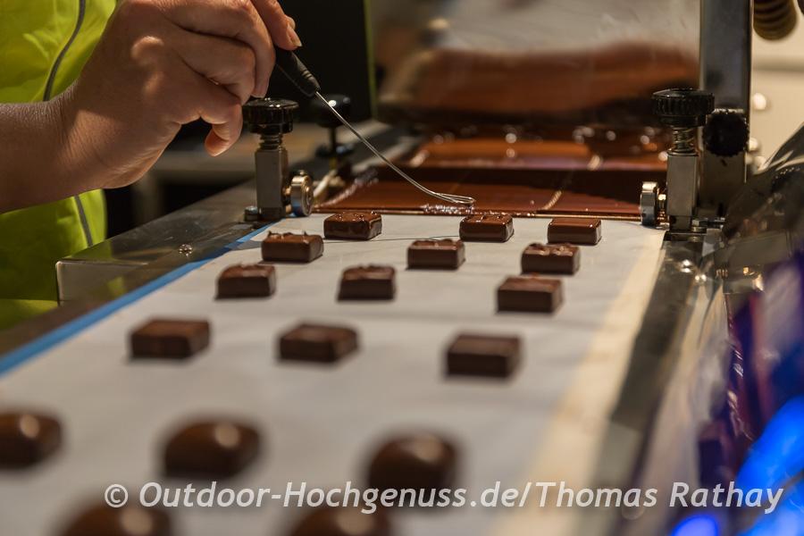 La Cité du Chocolat, hier werden Köstlichkeiten aus Schokolade kreiert