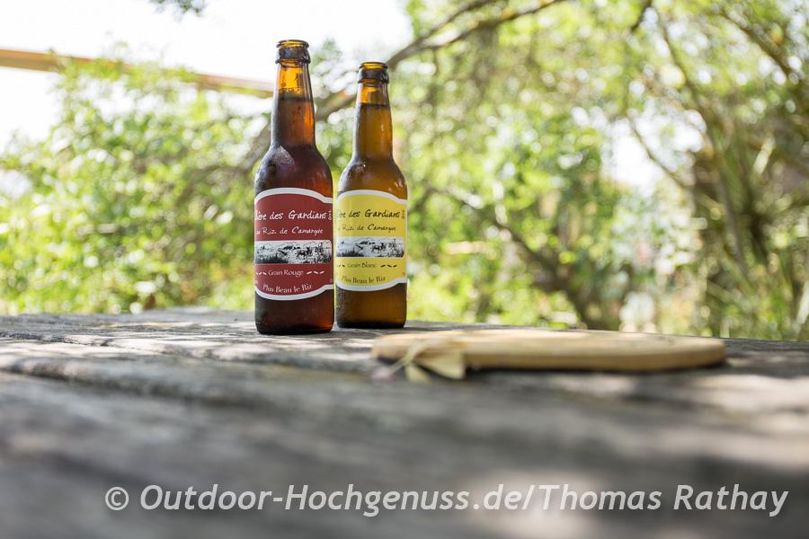 In der Camarque wird natürlich auch Bier aus Reis gebraut