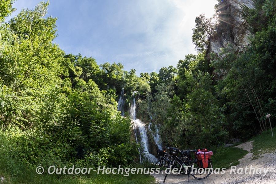 Wasserfall von Glandieu