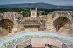 Phantastischer Ausblick vom mittelalterlichen Turm in Morestel
