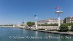 Sehr eindrucksvoll, das Freibad von Lyon