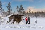 Ski Langlauf Tour auf dem Idrefjäll