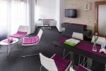 Modern und stilvoll eingerichtete Zimmer im Appartement-Hotel im Weingarten