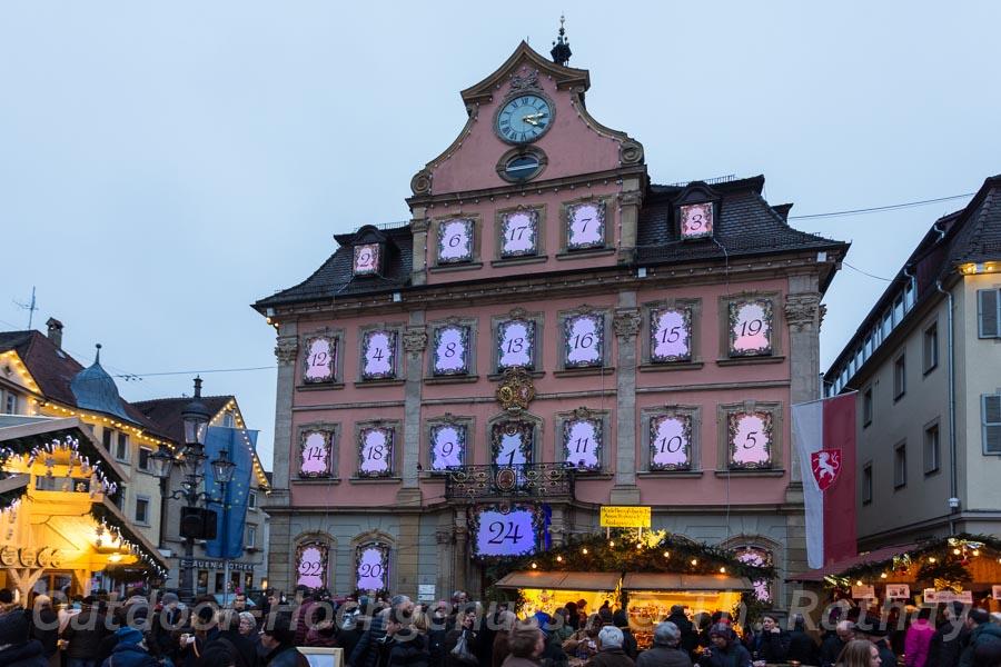 Schwäbisch Gmünd Weihnachtsmarkt.Outdoor Weihnachtsmarktgenuss In Schwäbisch Gmünd