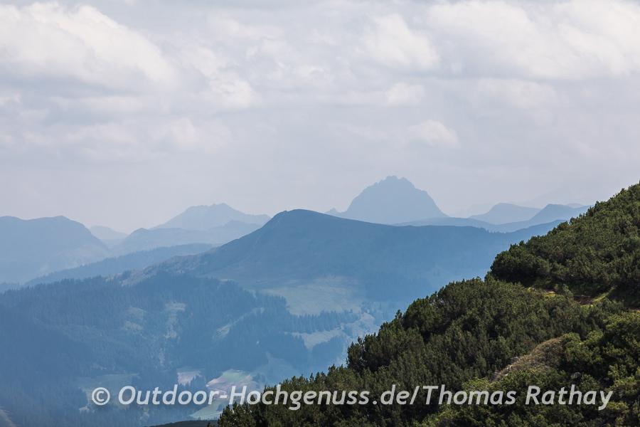 Majestätische der Große Rettenstein in den Kitzbüheler Alpen