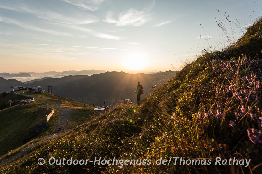 Sonnenaufgangsstimmung am Wiedersbergerhorn