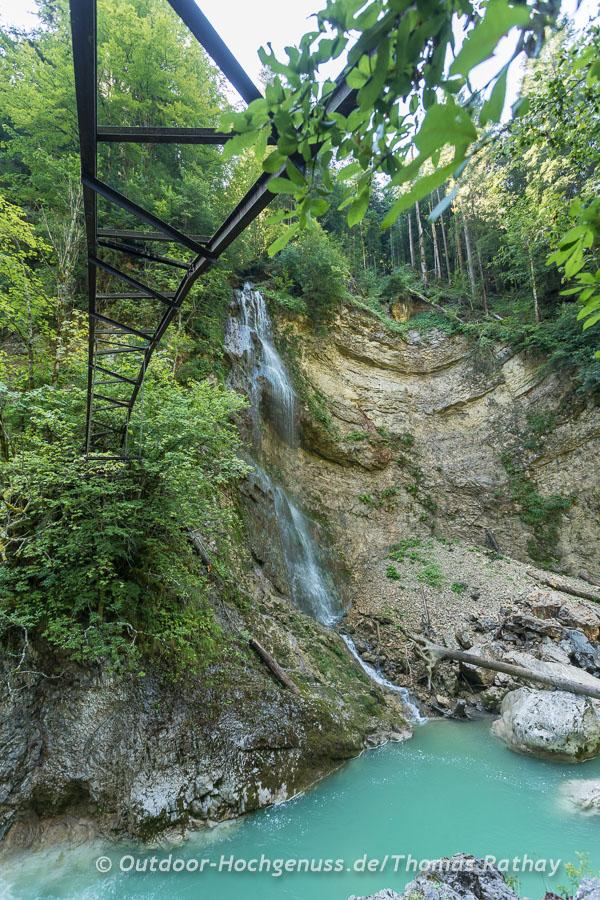 Abenteuerlich, die Tiefenbachklamm