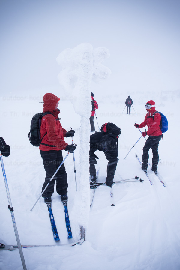Backcountry-Skitour Nipfjället.