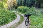 Einsame Strecke nach dem Trubel in Blaubeuren