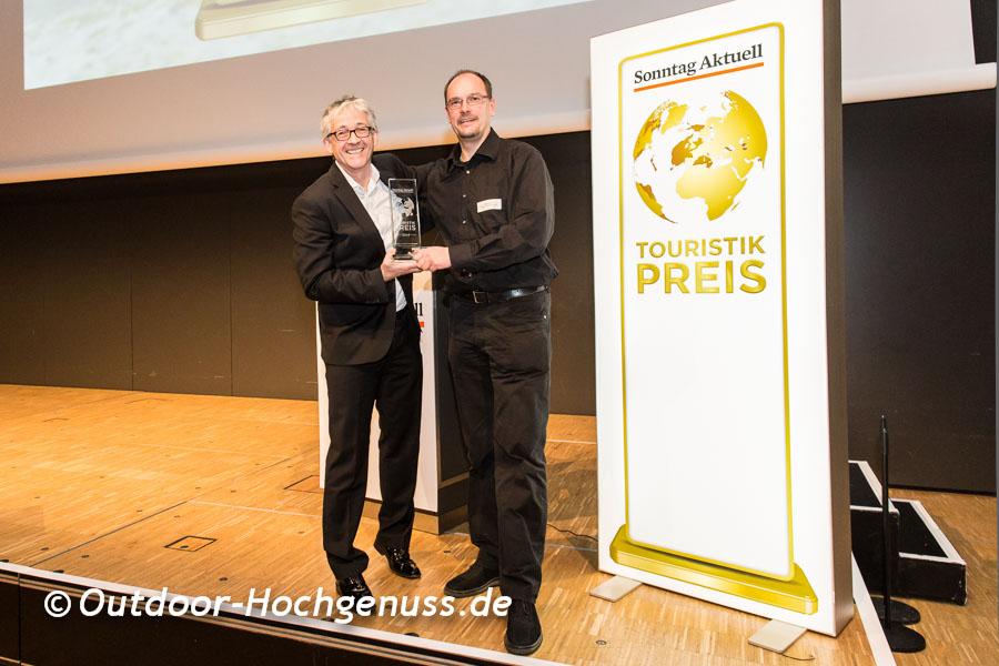 Preisverleihung des *Sonntag Aktuell* Touristikpreises  2014