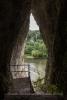 Tunnelblick aus der Höhle