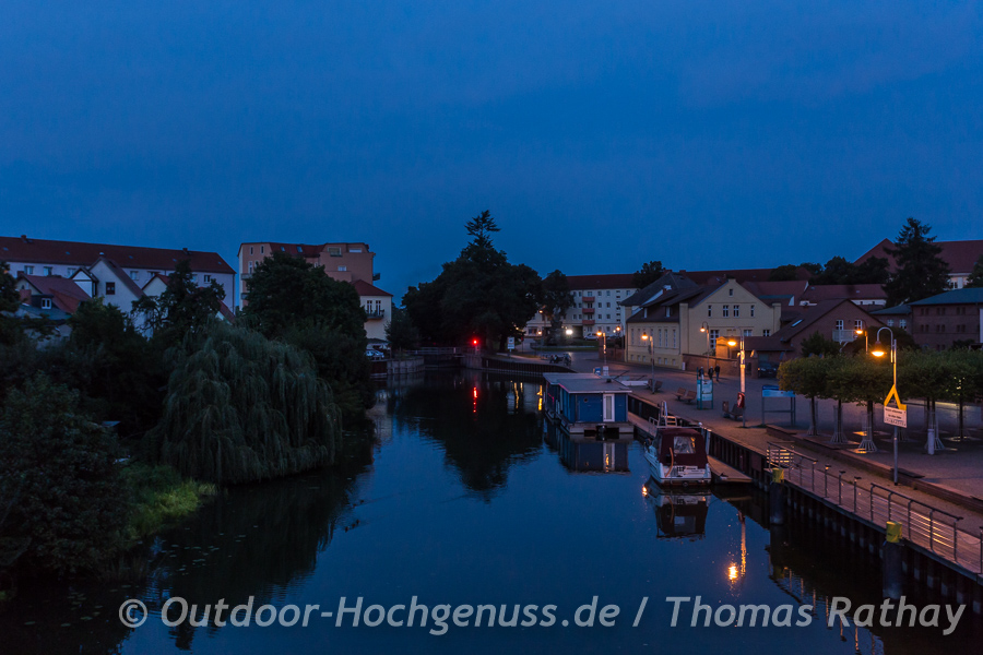 Abends in Rathenow