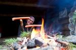 Kochstudio am Lagerfeuer