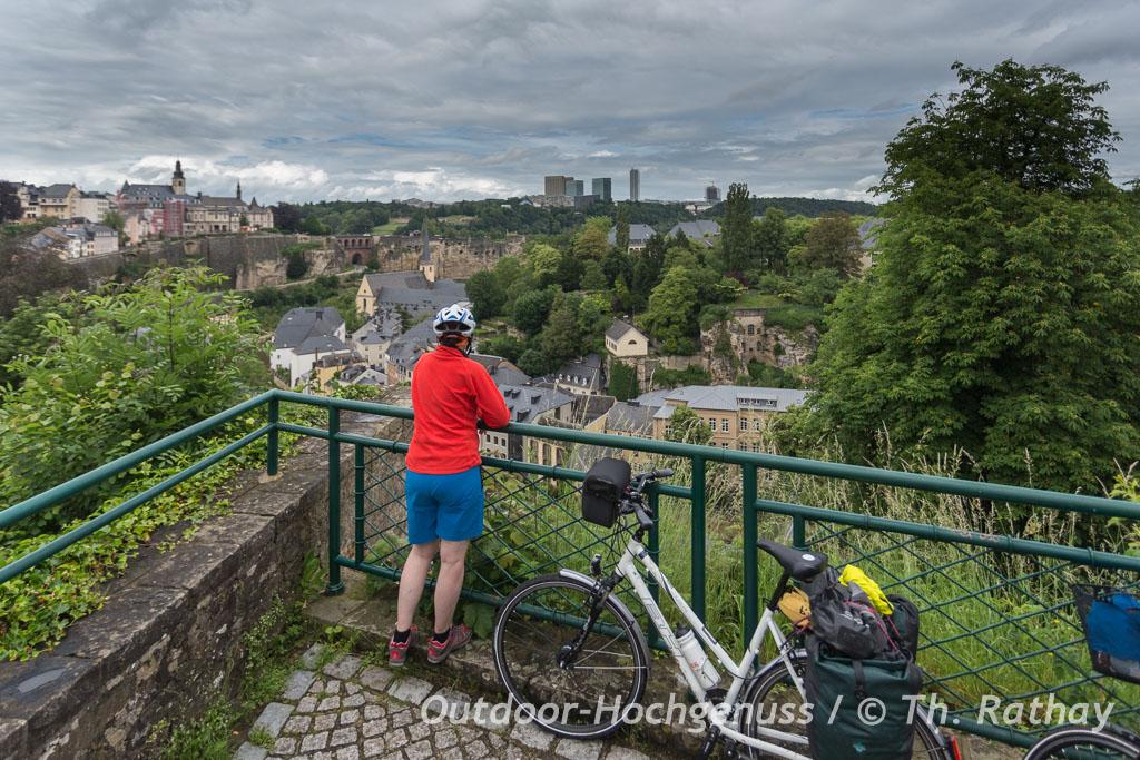 Abschluß wieder in Luxemburg Stadt