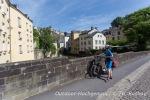 Start und Ziel in  Luxemburg Stadt