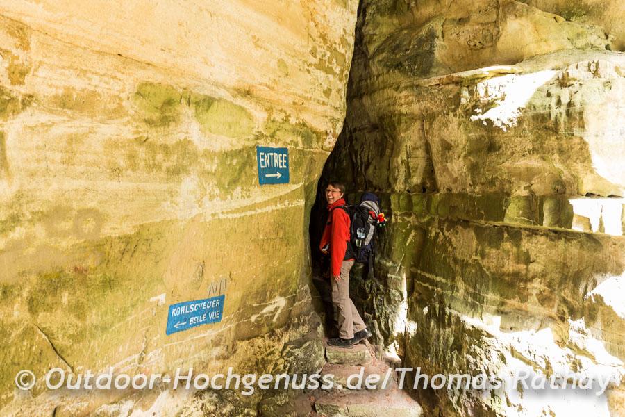 Wandern auf dem Mullerthal Trail