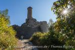 Vormittags an der Burg Hornberg