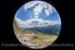 Wanderung zum Glaitner Joch in den Südtiroler Alpen