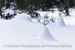 Schneepyramiden